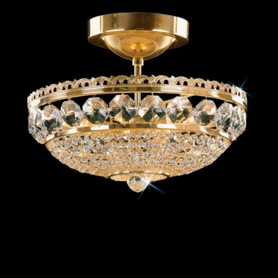 CB 0524/00/003 Polished Brass Standard