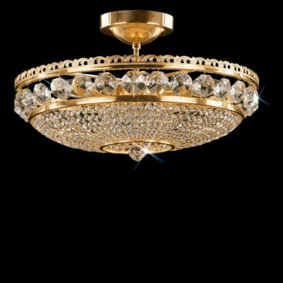 CB 0524/00/006 Polished Brass Standard