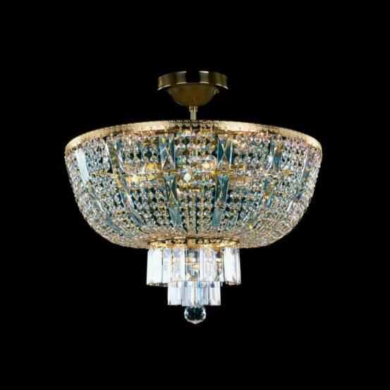 CB 0757/02/006 Polished Brass Standard