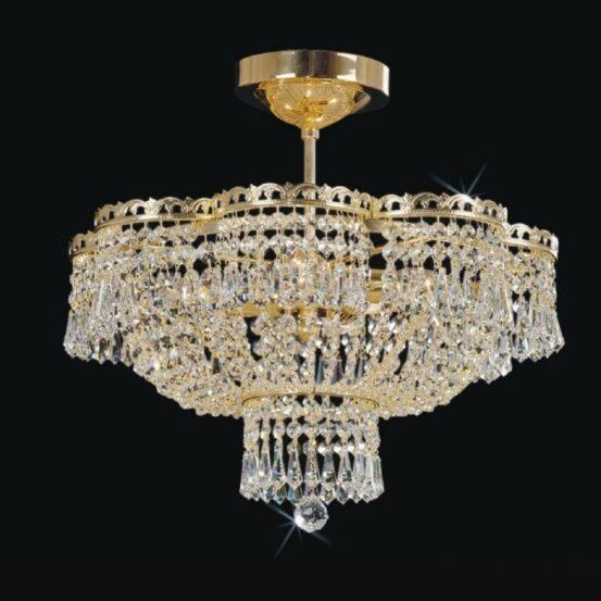 CB 0914/00/004 Polished Brass Standard