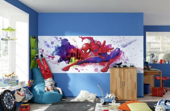 4-4123 Spider-Man Graffiti Art