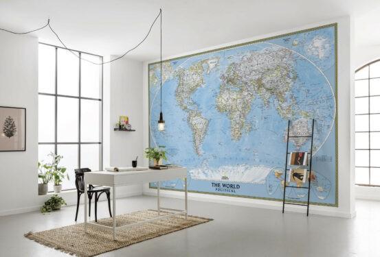 XXL4-533 The World Political Map